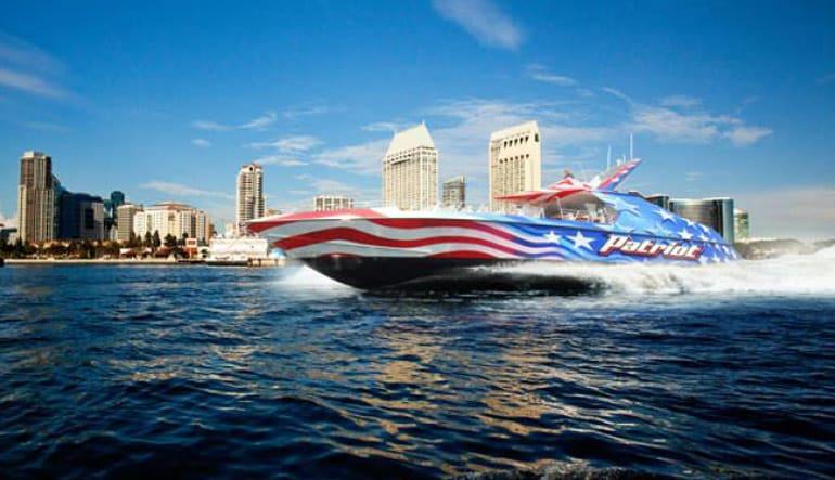 Patriot Jet Boat - 30 Minute San Diego Jet Boat Ride