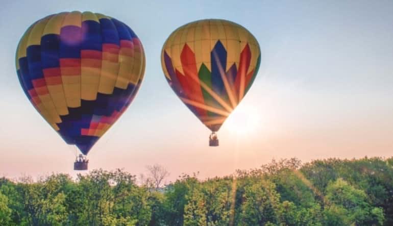 Hot Air Balloon Ride Hershey, Pennsylvania - 1 Hour Flight