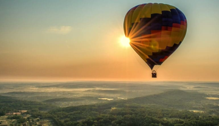 Hot Air Balloon Ride Gettysburg, Pennsylvania - 1 Hour Flight