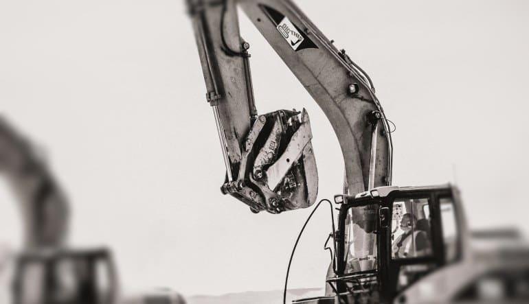 Drive A Caterpillar Excavator, Las Vegas - 30 Minutes