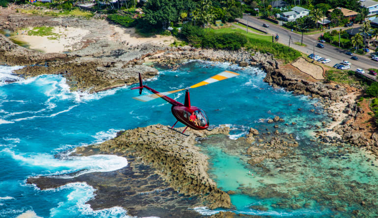 Helicopter Tour Oahu, Royal Crown - 60 Minutes