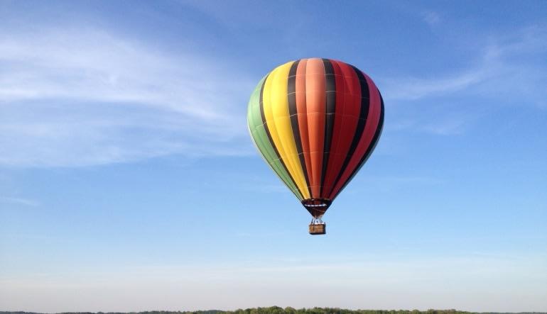 Hot Air Balloon Ride Bloomington, Indiana - 1 Hour Flight