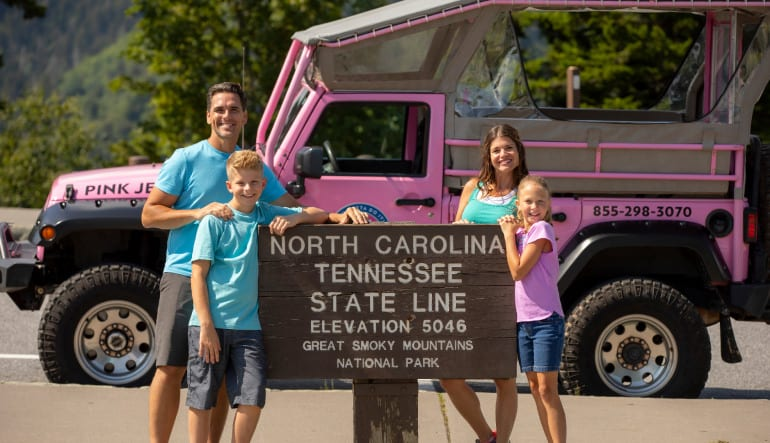 Jeep Tour Smoky Mountains, Newfound Gap Tour - 3 Hours