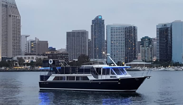 Private Chartered Yacht San Diego - 2 Hours