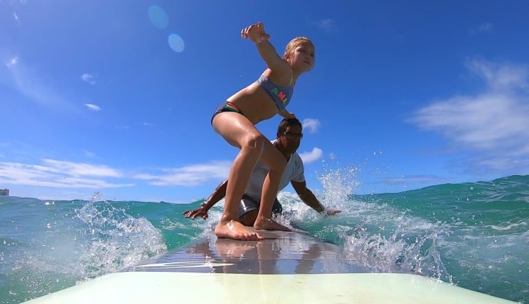 Private Surf Lesson Oahu - 1 Hour