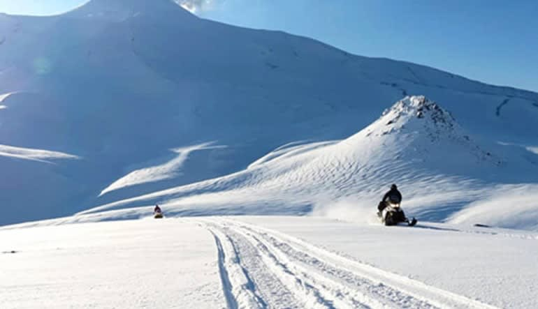 Snowmobile with Helicopter Flight, Knik River - 3 Hours