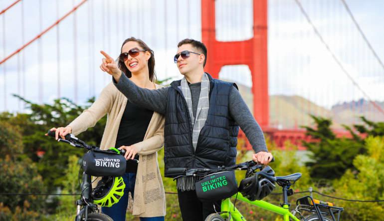 Golden Gate Bridge Bike Rental - Day Pass