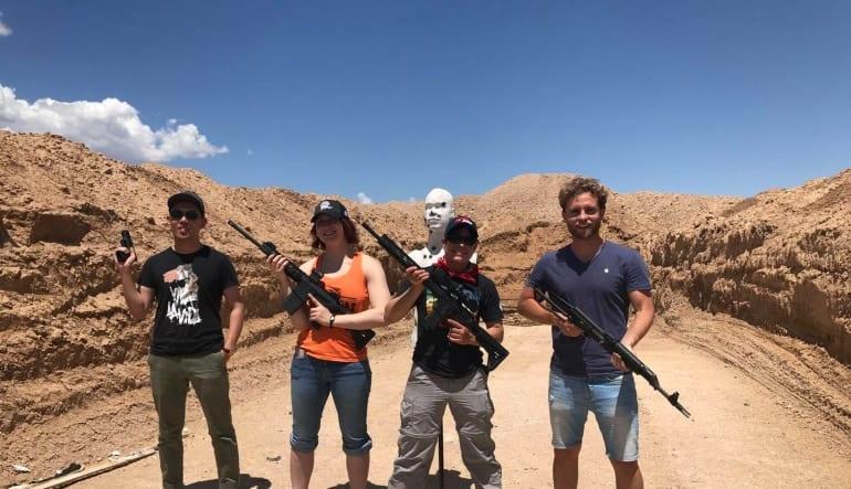 Outdoor Shooting Experience- Las Vegas