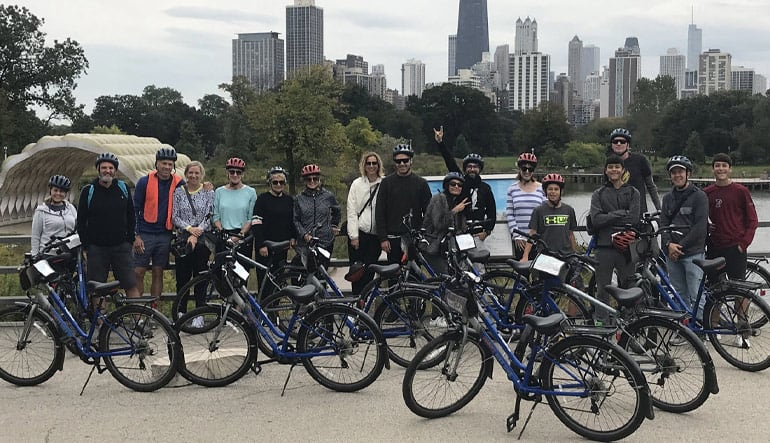Chicago Bike Tour, Greatest Landmarks - 2.5 Hours