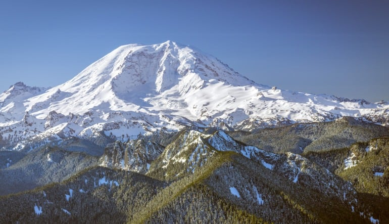 Ultimate Helicopter & Hiking Tour of Mt. Rainier from Seattle