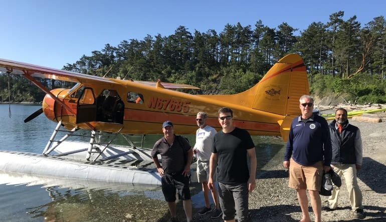 Seaplane & Hiking Adventure Tour - San Juan Islands (3 Passengers)