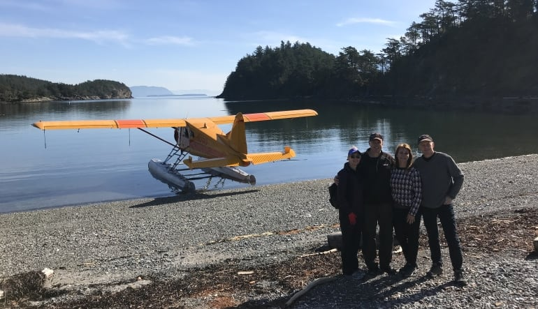 Seaplane & Hiking Adventure Tour - San Juan Islands (2 Passengers)
