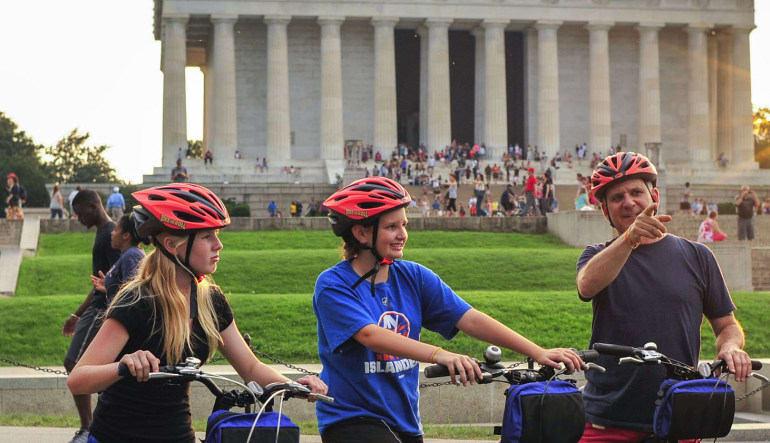 Bike Tour Washington DC at Night - 3 Hours