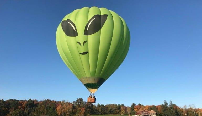 Hartford Balloon Ride