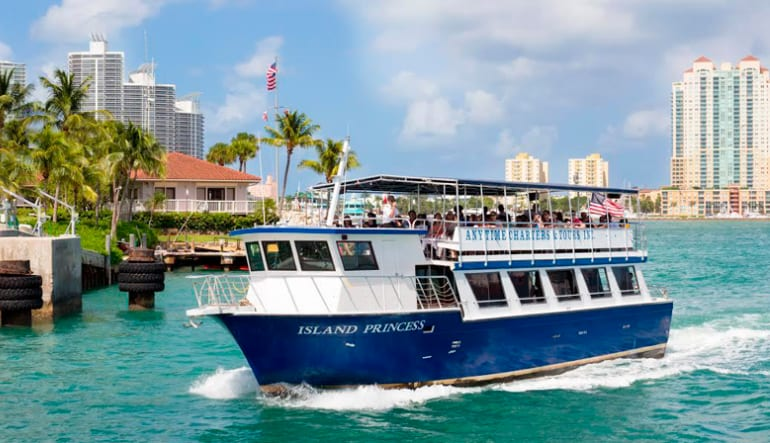 Miami Sightseeing Cruise - 1 Hour 30 Minutes
