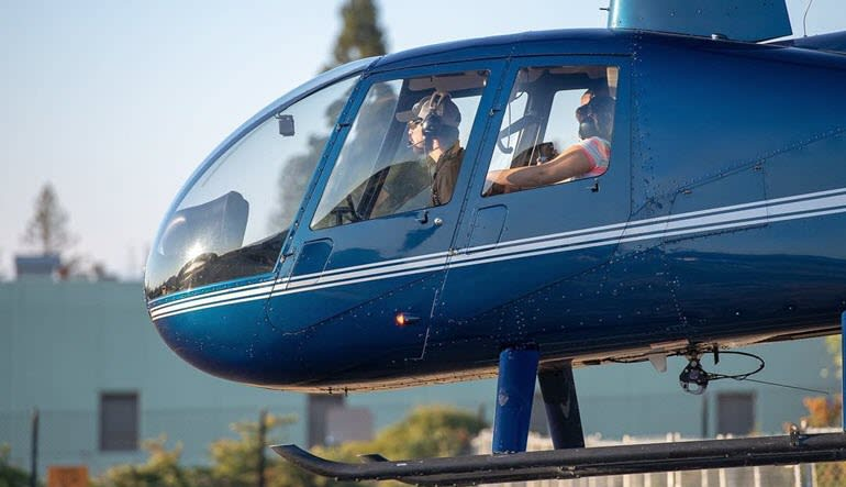 Helicopter Tour Sonoma County with Winery Landing & Tasting - 45 Minutes