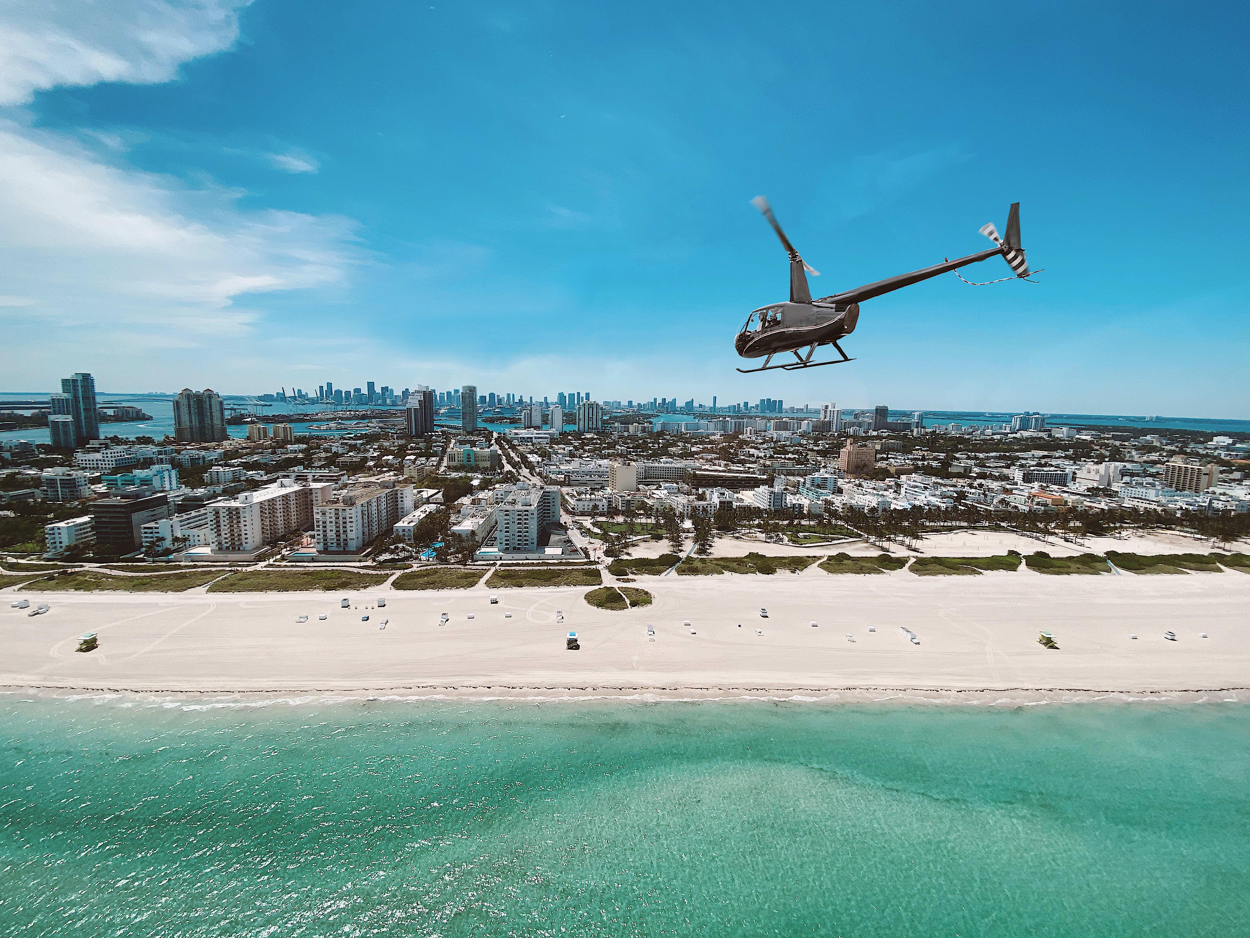 South Beach Fly By