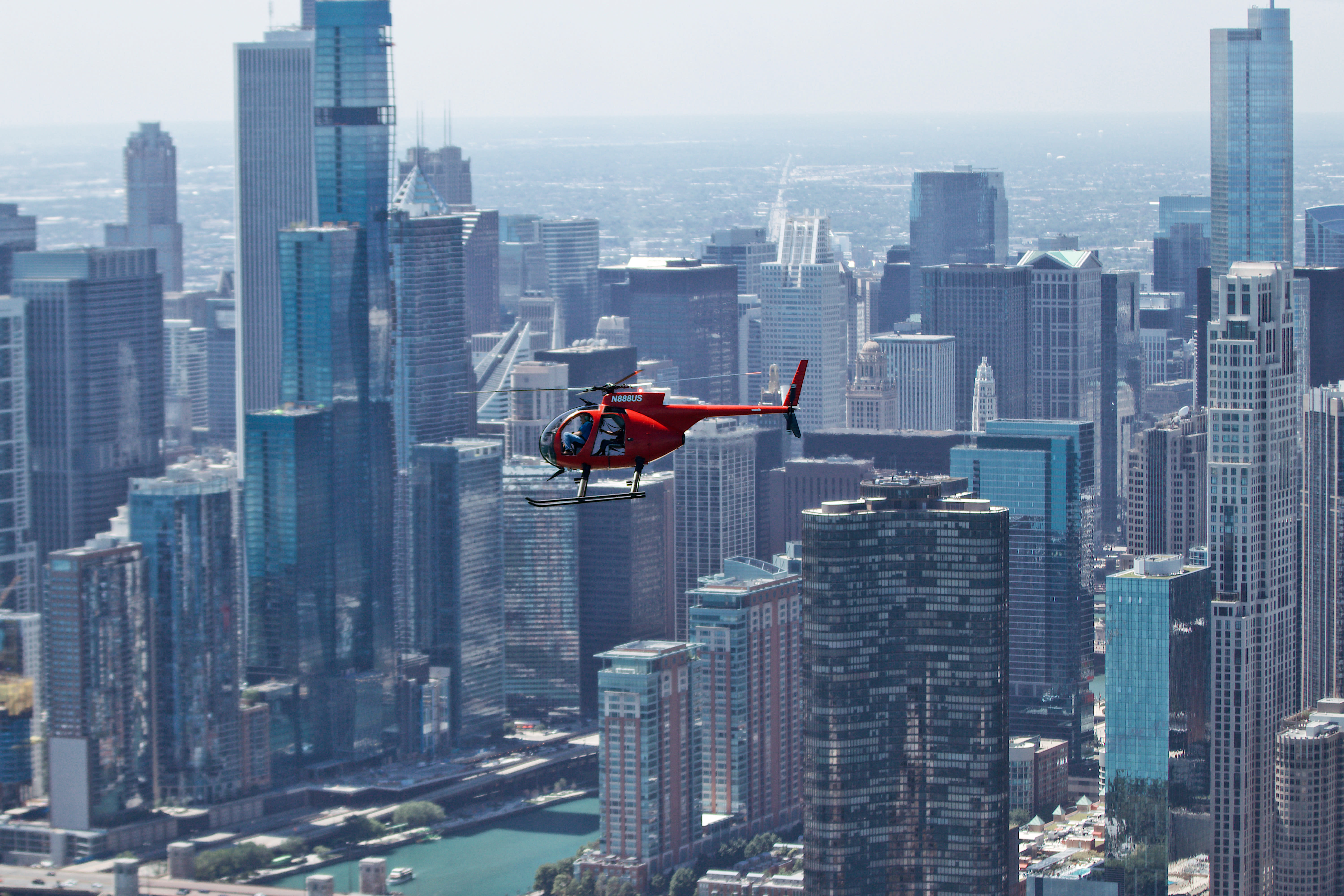 Chicago Fly By