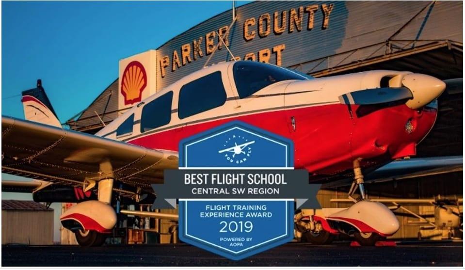 Award winning flight school