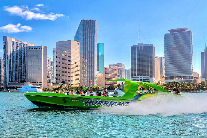 Thriller Miami, 45 Minute Speed Boat Ride