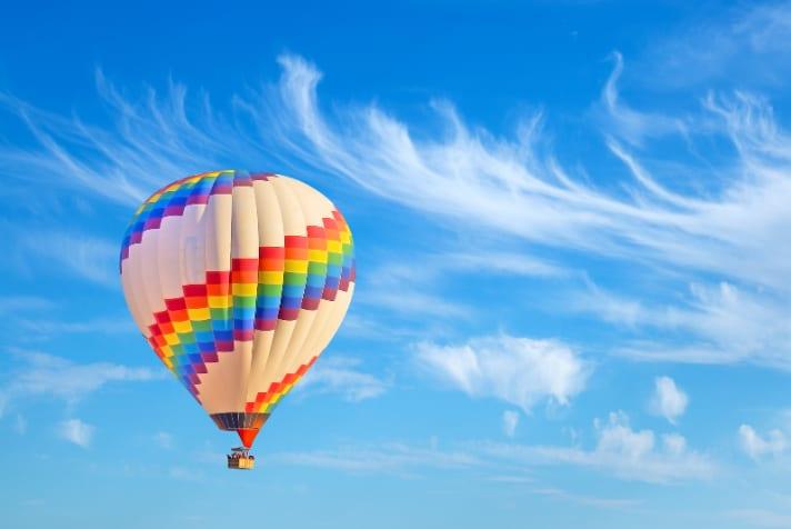 Hot Air Balloon Boston, 1 Hour Ride
