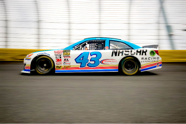 NASCAR Drive, 5 Minute Time Trial - Charlotte Motor Speedway