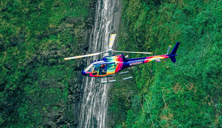Helicopter Tour Oahu, Doors Off or On - 60 Minutes