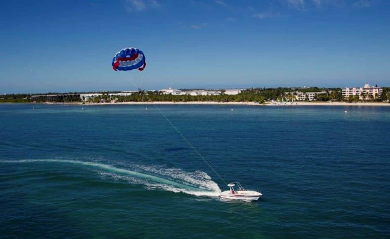 Parasail, Smathers Beach, Key West