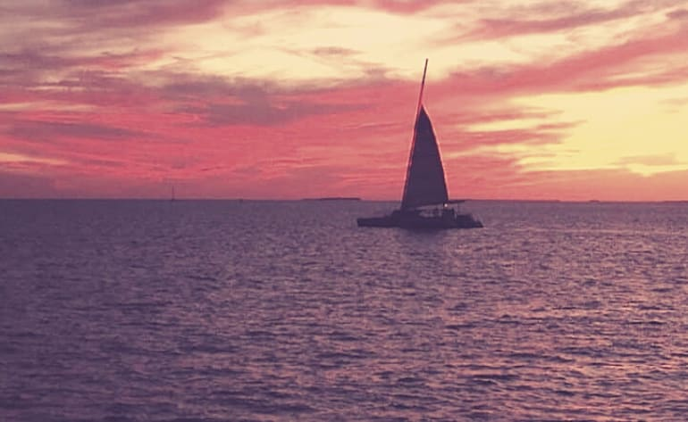 Key West Sunset Snorkel and Sail - 3 Hours