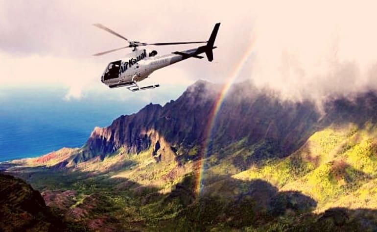Helicopter Tour Kauai, Doors Off Adventure - 60 Minutes