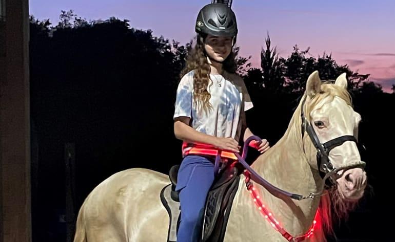 Horseback Riding Orlando, Interactive Evening Experience - 30 Mins