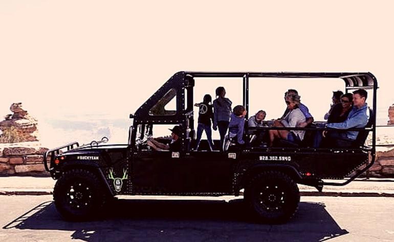 Sunset Hummer Tour South Rim, 2 Hours