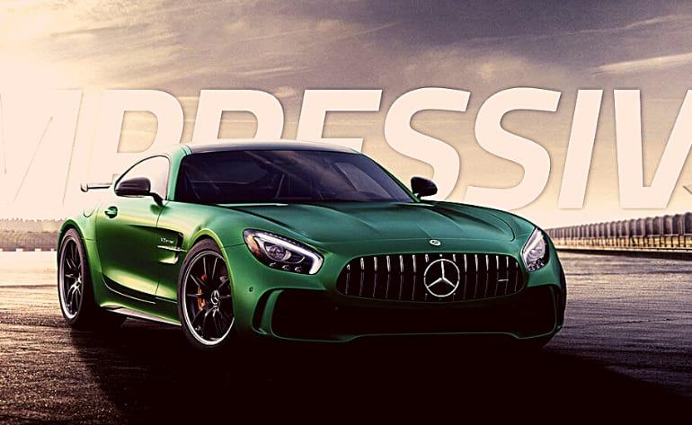 Mercedes AMG GT R Drive - Las Vegas Motor Speedway