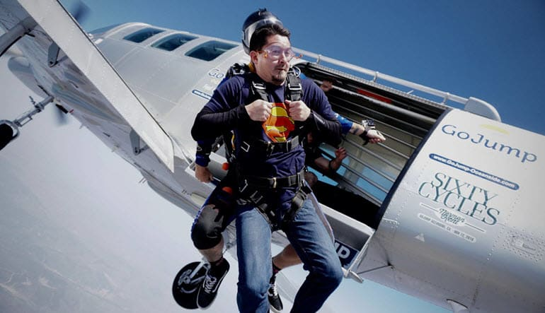 Oceanside Tandem Skydive, Premium Access with Photos & Video