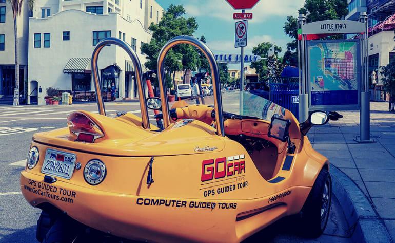 GoCar Tour San Diego - 1 Hour
