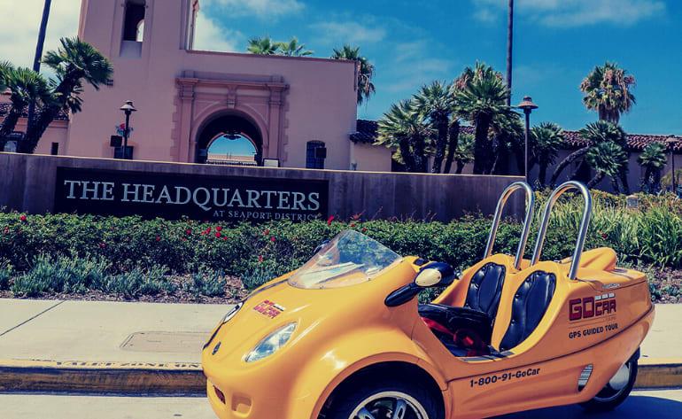 GoCar Tour San Diego - 2 Hours