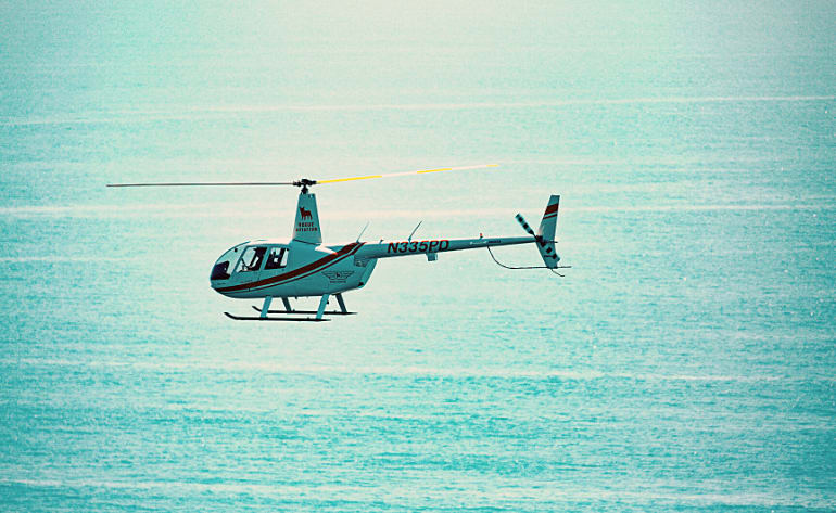 Private Helicopter Tour Newport Beach, OC Triangle - 25 Minutes