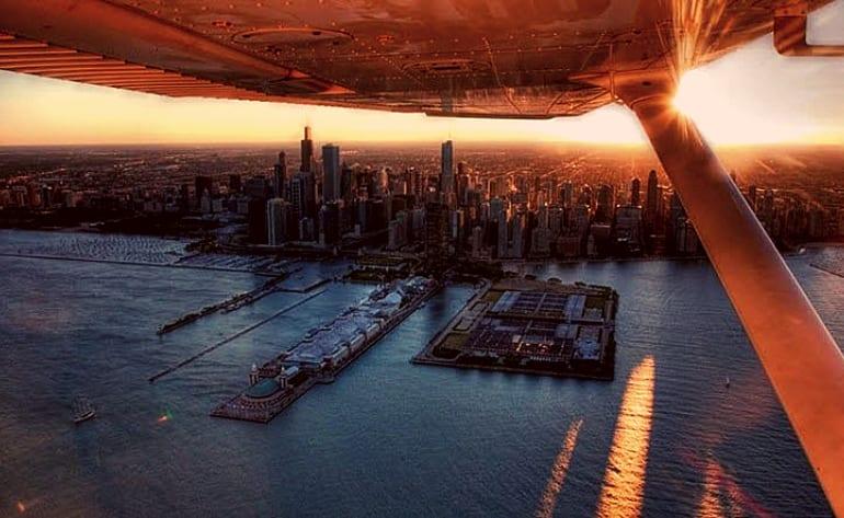 Downtown Adventure Flight Lesson (Includes Passenger) - Chicago