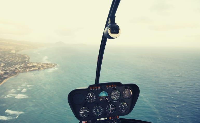 Private Helicopter Tour Oahu, Waikiki & Oahu - 30 Minutes