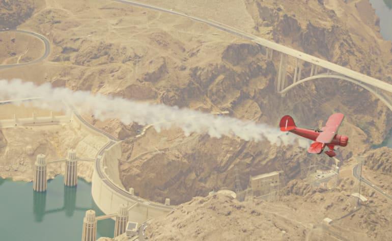 Waco Scenic Flight Las Vegas - 1 Hour Flight