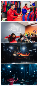 Indoor Skydiving Chicago at iFLY Lincoln Park, 2 Flights