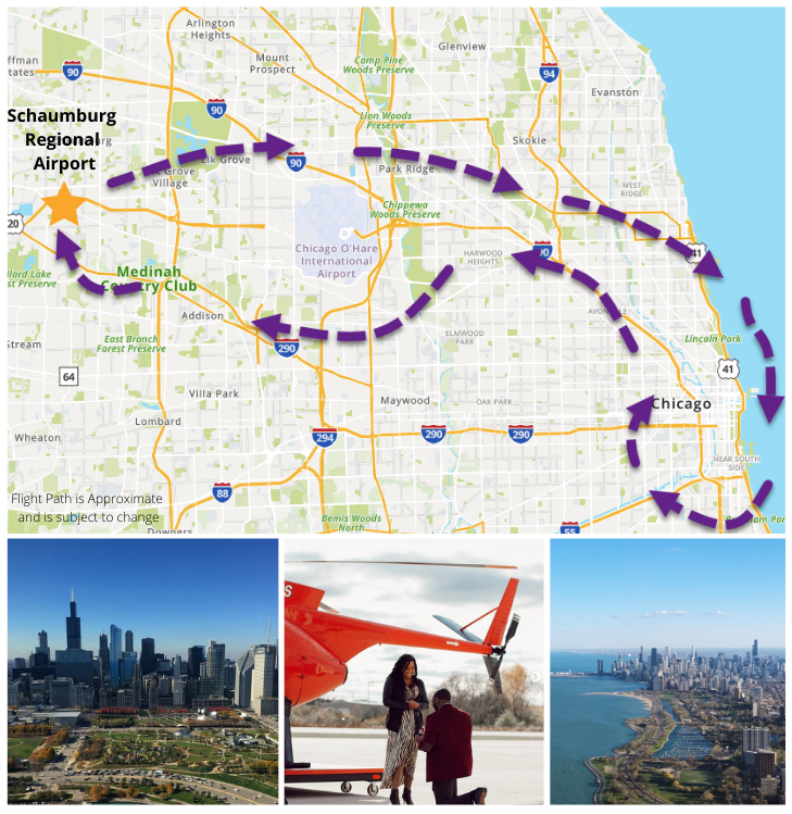 Private Helicopter Tour Chicago - 45 Minutes