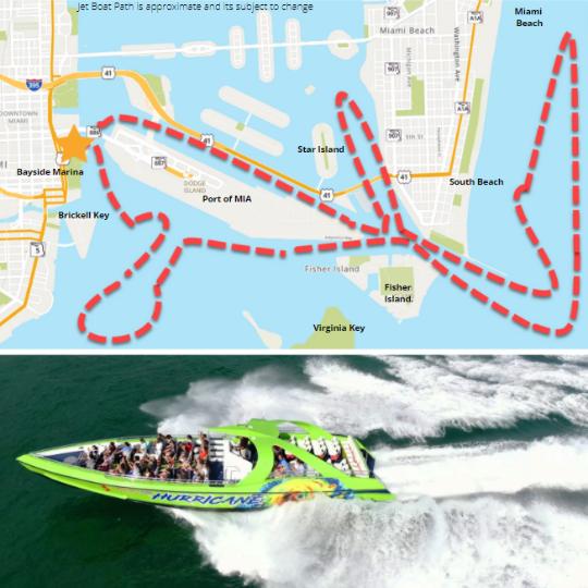 Jet Boat Map