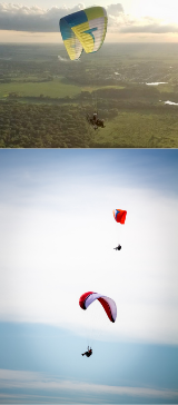 Paragliding in Chicago
