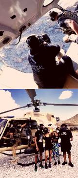 Las Vegas Aerial Shooting Adventure