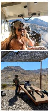 Las Vegas Aerial Shooting and Range Adventure