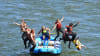 Whitewater Rafting Seattle Tieton River Jump