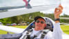 Glider Scenic Flight, Orlando Man