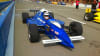 INDY-STYLE CAR Drive, 8 Minute Time Trial Blue Car