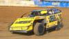 Dirt Track Racing Yellow Car
